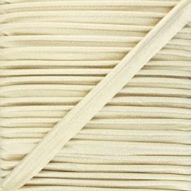 Passepoil lurex 8 mm - doré x 1m