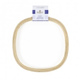 DMC wooden embroidery hoop - square