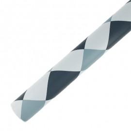 Self Adhesive Paper 45 cm x 2 m - grey checks