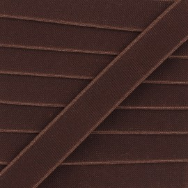 Flat elastic - brown Woki x 1m