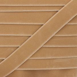 Elastique plat Woki - beige x 1m