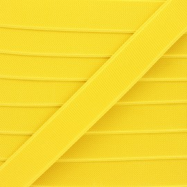 Elastique plat Woki - jaune x 1m
