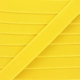 Flat elastic - yellow Woki x 1m