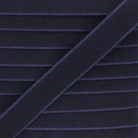 Elastique plat Woki - bleu nuit x 1m
