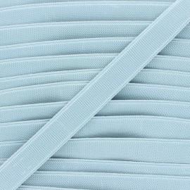 Elastique plat Woki - bleu acier x 1m