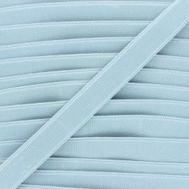 Flat elastic - steel blue Woki x 1m