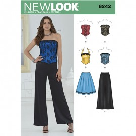 All-In-One Sewing Pattern for Woman - New Look 6242