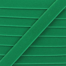 28mm Flat elastic - grass green Woki x 1m