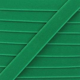 Elastique plat Woki 28mm - vert gazon x 1m