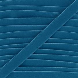Elastique plat Woki 20mm - bleu pétrole x 1m