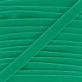 20mm Flat elastic - meadow green Woki x 1m