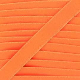26mm Flat elastic - neon orange Fluwoki x 1m
