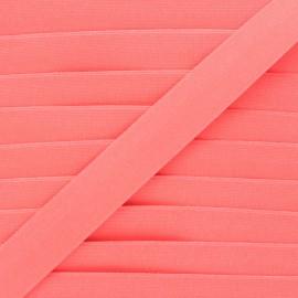 Elastique plat Fluwoki 26mm - rose fluo x 1m