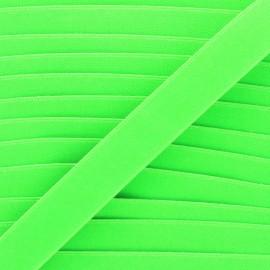 26mm Flat elastic - neon green Fluwoki x 1m