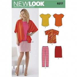 All-In-One Sewing Pattern for Woman - New Look 6217