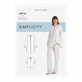 Boho set sewing Pattern for Woman - Simplicity n°S9113
