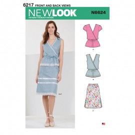 All-In-One Sewing Pattern for Woman - New Look 6624
