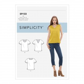 Top sewing Pattern for Woman - Simplicity n°S9133