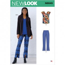All-In-One Sewing Pattern for Woman - New Look 6645