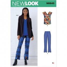 Patron Ensemble Femme - New Look 6645