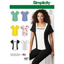 Top sewing Pattern for Woman - Simplicity n°1316