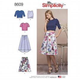 Patron Ensemble chic Femme - Simplicity n°8609