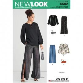 Patron Ensemble Femme - New Look 6582