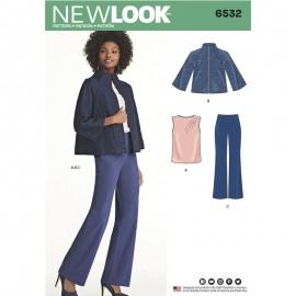 Patron Ensemble Femme - New Look 6532