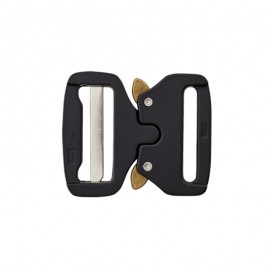40 mm Metal backpack buckle - black