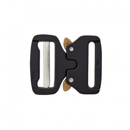 Boucle sac à dos métal 40 mm - noir