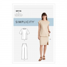 Set sewing Pattern for Woman - Simplicity n°S9115