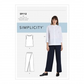 Set sewing Pattern for Woman - Simplicity n°S9112