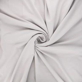 Plain viscose jersey fabric - grege x 10 cm
