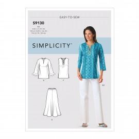 Patron Ensemble Femme - Simplicity n°S9130