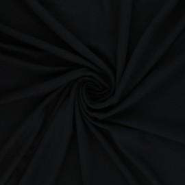 Tissu jersey viscose uni - gris anthracite x 10 cm