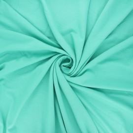 Tissu jersey viscose uni - céladon x 10 cm