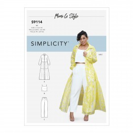 Fashion set sewing Pattern for Woman - Simplicity n°S9114