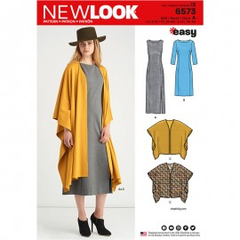 All-In-One Sewing Pattern for Woman - New Look 6573