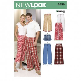 All-In-One Sewing Pattern for Woman - New Look 6859
