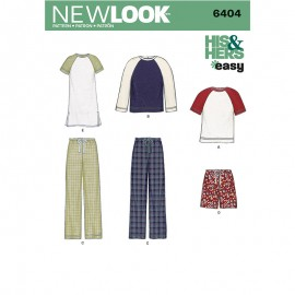 All-In-One Sewing Pattern for Woman - New Look 6404