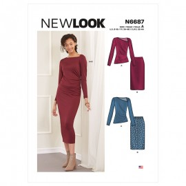 All-In-One Sewing Pattern for Woman - New Look 6687