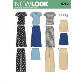 All-In-One Sewing Pattern for Woman - New Look 6730