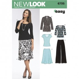 All-In-One Sewing Pattern for Woman - New Look 6735