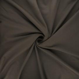Tissu jersey viscose uni - taupe x 10 cm