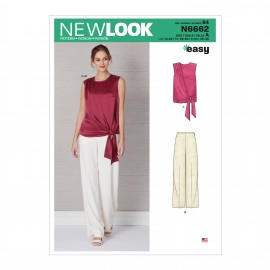 All-In-One Sewing Pattern for Woman - New Look 6662