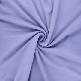 Tissu jersey viscose uni - parme x 10 cm
