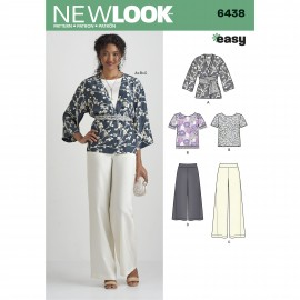 All-In-One Sewing Pattern for Woman - New Look 6438