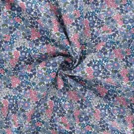 Cotton poplin fabric - grey Catalina x 10cm