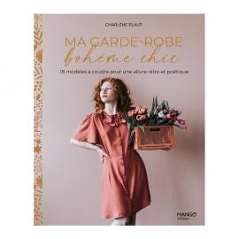 "Livre ""Ma garde-robe bohème chic"""