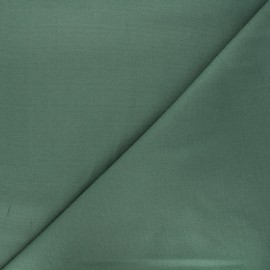 Plain Flannel Fabric - eucalyptus green Douceur x 10cm
